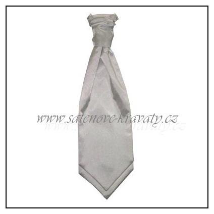 Pánská kravata bílá